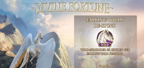 Divine Fortune hos Mr Green