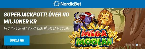 Spelautomater med Jackpott hos NordicBet
