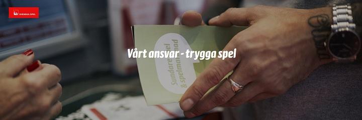 Svenska Spel med stort spelansvar