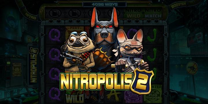 Nitropolis 2 - spela den hos ComeOn